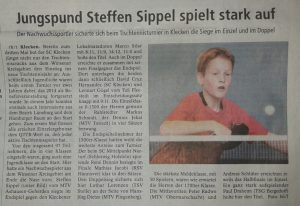 2015-01-14 TT_Artikel_aus_WA Turnier_Klecken